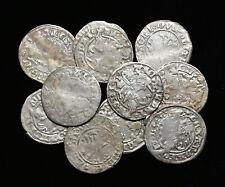 """LITHUANIA. Alexander I """"The Jagiellonian"""", 1501-1506. 1/2 Groschen, Lot of 11"""