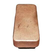 GREAT INVESTMENT Copper Ingot Bars, Bullion. 16 Ounces,  .999 Pure Copper