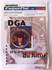 Armées d'Aujourd'hui n°206 du 12/1996; DGA et la préparation du futur/ Austerlit