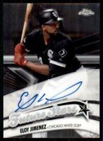 2020 Topps Chrome Future Stars Auto #FSA-EJ Eloy Jimenez /99 - Chicago White Sox