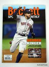 Beckett Sports Card Monthly Price Guide DECEMBER 2019, George Springer, ASTROS