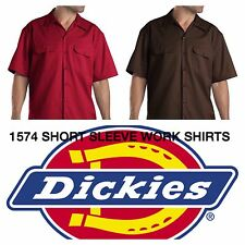 DICKIES 1574 SHORT SLEEVE WORK SHIRT BUTTON DOWN  S-6XL