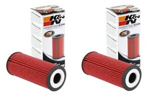 K&N Performance Gold Oil Filter PS-7037 PS7037 - 2 Pack NEW