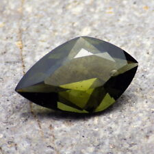 BOHEMIAN MOLDAVITE-LOCENICE 5.96Ct NATURAL GEMSTONE, FOR TOP JEWELRY