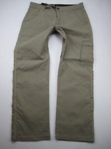 Mens Medium 30L Prana Zion Stretch beige pants