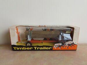 Vintage Britains Ltd. 9559 Timber Trailer Diecast Model (Boxed) Farm Toy
