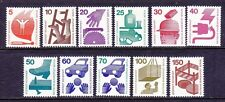 Germany Berlin 9N316-25 MNH 1971-73 Accident Prevention Complete Set of 11
