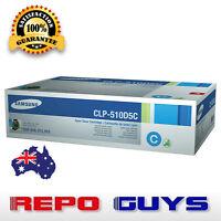 Samsung CLP-510D5C Cyan Laser Toner Cartridge CLP-510 511 515 - Brand New
