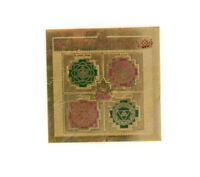 Talisman Amuleto de la Suerte Protección Sri Maha Lakshmi Yantra India 7817