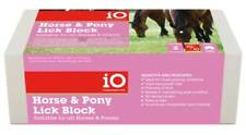 iO Horse & Pony Mineral Salt Lick Block, Equine Supplement 2 Kg