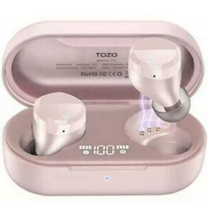 TOZO T12 Wireless Earbuds Bluetooth Headphones Premium Fidelity Sound Quality...