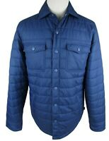 Vineyard Vines Men's Puffer Jacket Blue Sz Medium Flannel lining