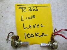 Sony Tc366 Line Input Level Record Pot - One each