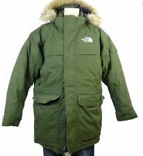 THE NORTH FACE Parka Daunen Jacke Winter Mcmurdo Millitary Green Gr. XL (GE89)