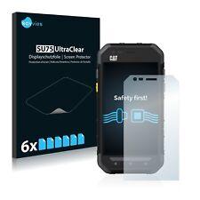 6x Protector Pantalla Caterpillar Cat S30 Pelicula Protectora Transparente