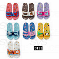 BTS BT21 Official Authentic Goods Slippers 230~250cm 7Characters + Track