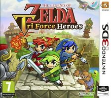 The legend of zelda tri force heroes nintendo 2DS & 3DS * neuf scellé pal *