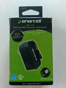 Enercell 5VDC 2.5A AC Power Adapter with USB Port #273-411