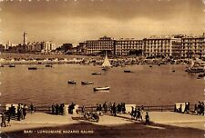 7503) BARI LUNGOMARE NAZARIO SAURO. ANIMATA. VIAGGIATA NEL 1949.