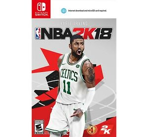 NBA 2K18 Standard Edition --Nintendo Switch--