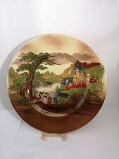 """Royal Staffordshire Jenny Lind Brown Multicolor 10 3/4"""" Dinner Plate - EXC."""