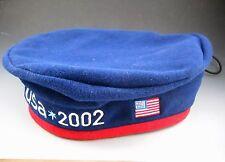 Salt Lake 2002 Olympic Fleece Adjustable Roots Beret Hat NWoT