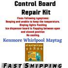 Control Board Repair Kit W10312695B Whirlpool Maytag Kenmore  photo