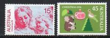 AUSTRALIA MNH 1976 SG635-636 CHRISTMAS SET OF 2