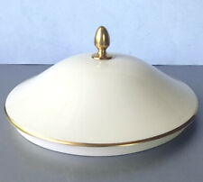 Lenox LID ONLY for Presidential Gold Covered Vegetable Bowl New
