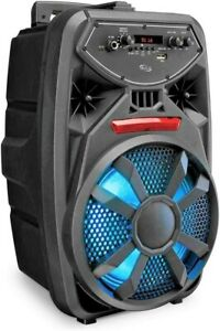 Bluetooth Tailgate Party Speaker Wireless Sound System with LED Party Lights