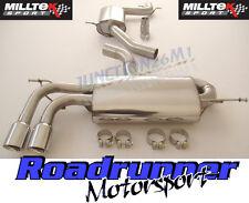 Milltek A3 Sportback Exhaust 2.0T FSi 2WD Cat Back System Resonate GT80 SSXAU639