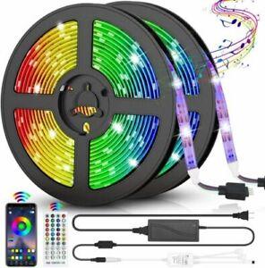 LED Strip Lights - 5050 RGB - 32.8 Feet - 3600 Lumens - 2 Strings