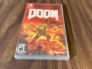 Doom (Nintendo Switch) Brand New -- Factory Sealed