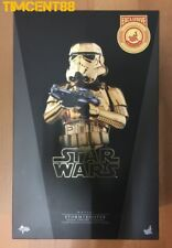 MMS364 Star Wars Stormtrooper Gold Chrome Version Imperfect Box