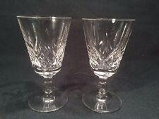 Pair Of Stuart Crystal 'Glengarry' Liqueur Glasses (ref W954)