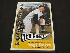 "TEN RINGS ""MY CHAMPIONSHIP SEASONS"" YOGI BERRA BOOK NEW!"