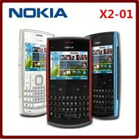 Nokia X2-01 QWERTY Keyboard Symbian OS Mp3 Mp4 Player Email Classic cell phone