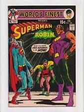 World's Finest #200 Neal Adams Cover Batman Superman Bronze Age DC Comics 1971