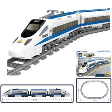 KAZI City / Town - Passagierzug mit Antrieb & Licht (98227) kompatibel mit LEGO