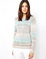 BEAU PULL ATHE VANESSA BRUNO TAILLE 0 /38 100% COTON COULEUR PASTEL