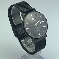 Wwoor Mens WR-8826M Stainless Steel Casual Sport Watch Quartz Black Band