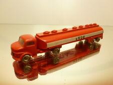 LEGO MERCEDES BENZ TRUCK + TANKER - ESSO - L14.5cm - GOOD CONDITION