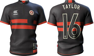 Phil Taylor Cool Play Authentic Replica Dart Shirt by Target - New for 2020
