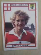 Graeme Hedley Football 78 Panini Sticker