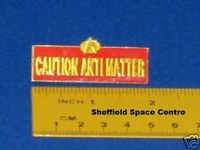 Star Trek Next Generation Caution Anti-Matter Sign Pin Badge STPIN1036