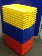 WAR898 8 Plastic Trays 425 X 310 X 75mm £8.00 Plus Vat