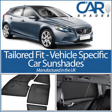Volvo V40 5dr 2012 On UV CAR SHADES WINDOW SUN BLINDS PRIVACY GLASS TINT BLACK