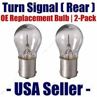 Front Turn Signal//Blinker Light Bulb 2pk-Fits Listed Volkswagen Vehicles 1156A