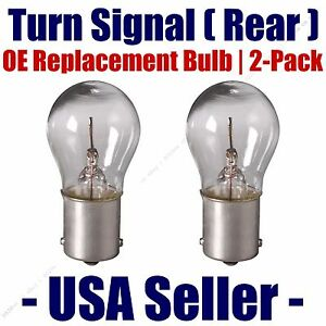 Rear Turn Signal Light Bulb 2pk - Fits Listed Bertone Vehicles - 1073