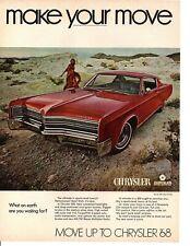 1968 CHRYSLER 300 / 440 V-8  ~  ORIGINAL PRINT AD